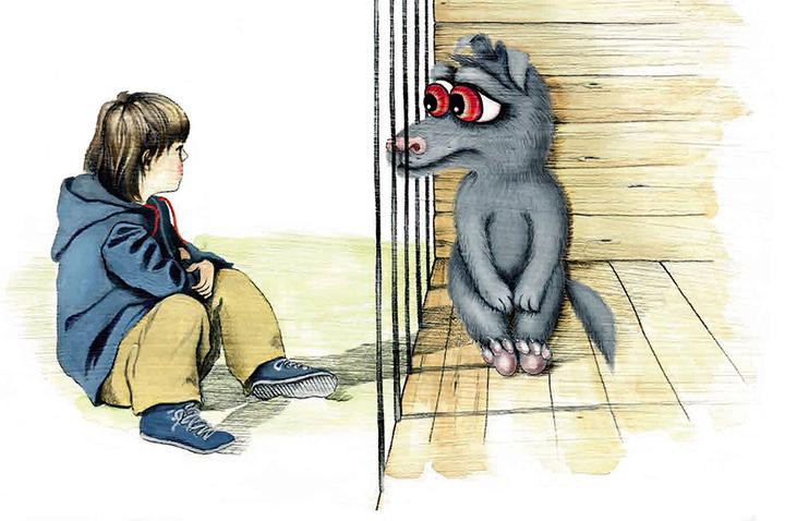 Уильям Макклири, «История про волка»