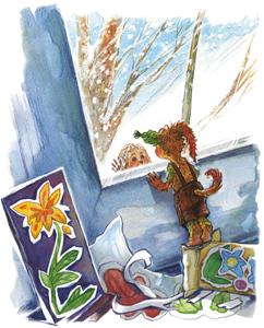 Тамара Михеева: Шумсы и почти Сосновый лес. Иллюстрация Ольги Березинской
