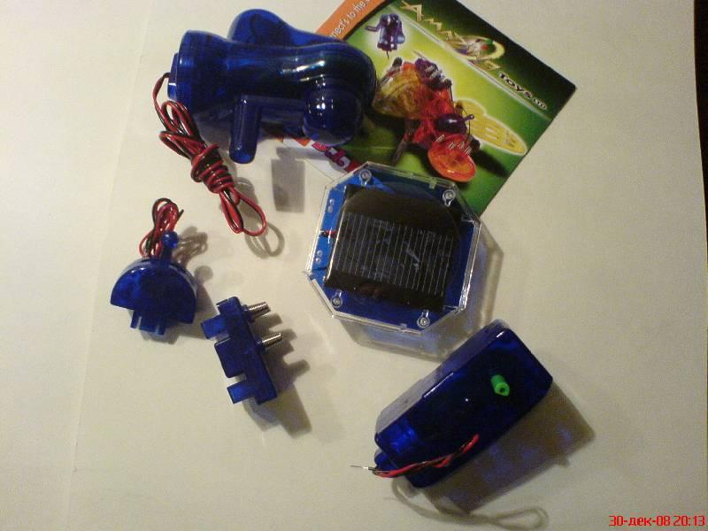 Набор Робот-насекомое на солнечных батарейках, подробные фотографии.
