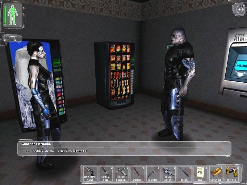 Иллюстрация 1 из 3 для Deus Ex (DVDpc) | Лабиринт - софт. Источник: Ганина  Екатерина Викторовна