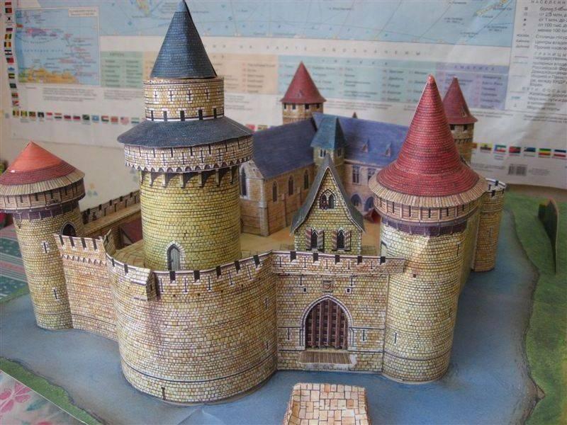 Замок крепость своими руками 190