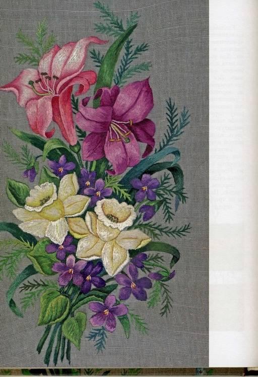 Иллюстрация 1 из 10 для Живописная вышивка гладью. Цветы и плоды - Вероника Королева   Лабиринт - книги. Источник: Panterra