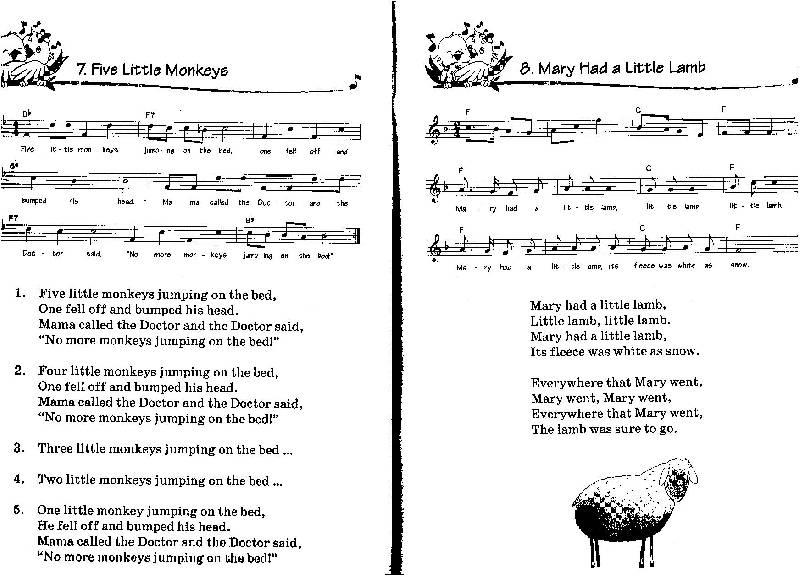 Иллюстрация 1 из 10 для Songbirds. Песни для детей на английском языке. Книга 2. Animals | Лабиринт - книги. Источник: Еделева Юлия Андреевна