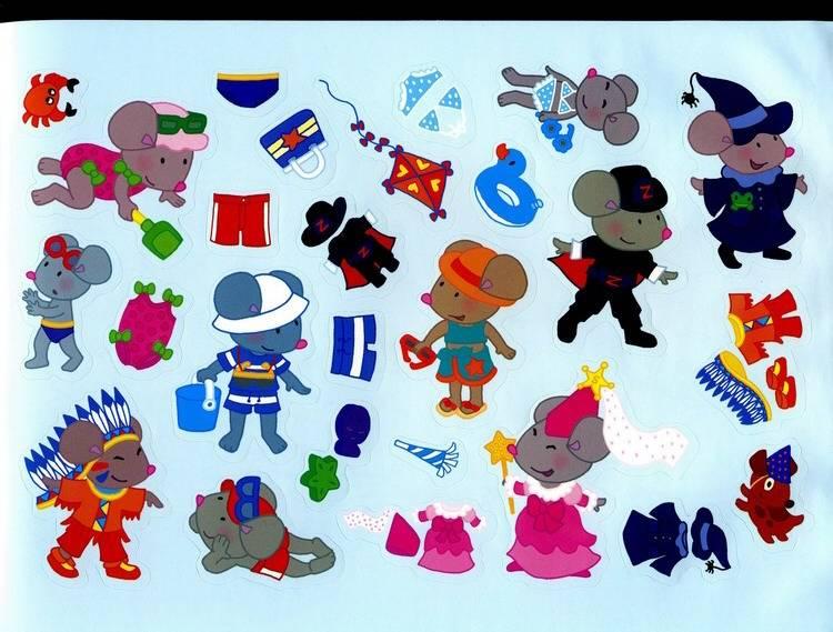 Иллюстрация 1 из 2 для Играем с наклейками: Моя одежда | Лабиринт - книги. Источник: Дерингер  Анна Борисовна