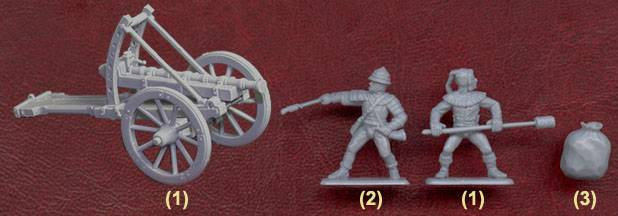 Иллюстрация 1 из 10 для Средневековая полевая пороховая артиллерия (8027) | Лабиринт - игрушки. Источник: Гурков Алексей Владимирович