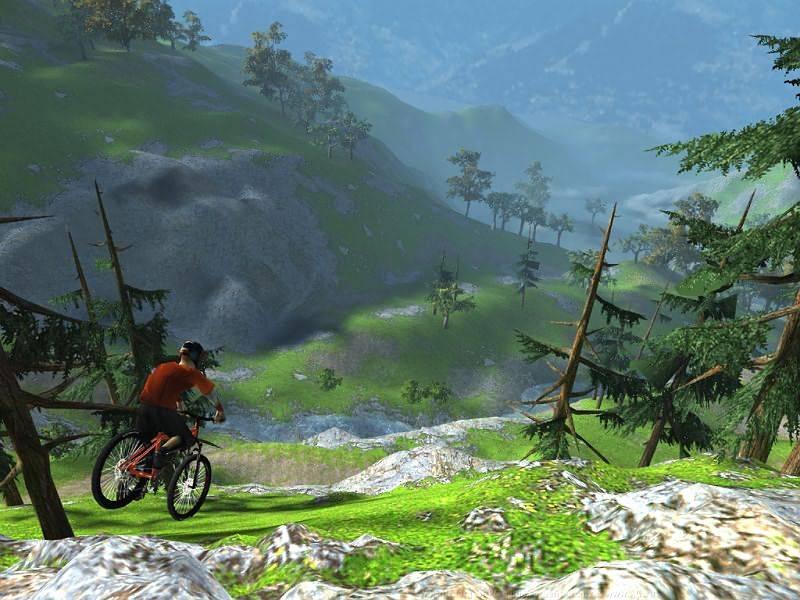 Иллюстрация 1 из 4 для Mountain Bike. Адреналин (CDpc) | Лабиринт - софт. Источник: Юлия7