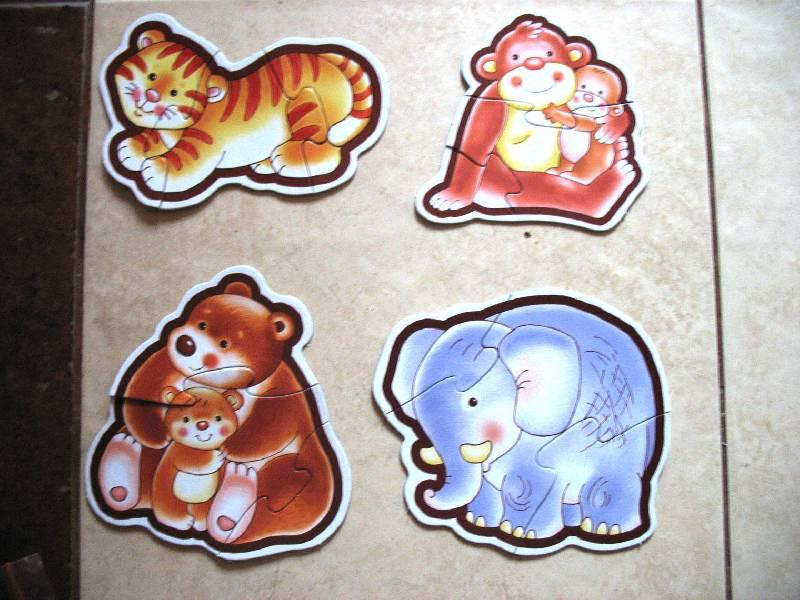 Иллюстрация 1 из 4 для Животные в зоопарке: Собери 8 животных из зоопарка: Для самых маленьких   Лабиринт - игрушки. Источник: scarlett