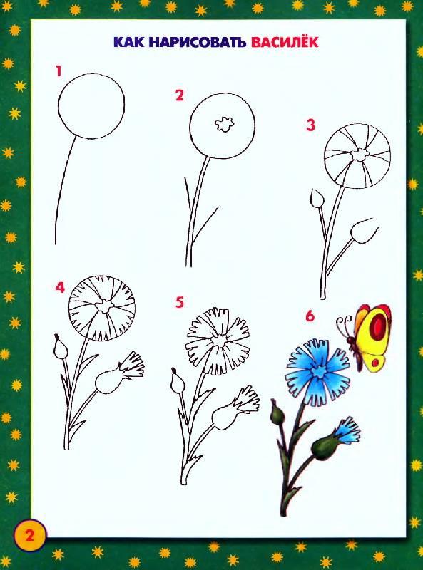 Как научиться рисовать цветы красками