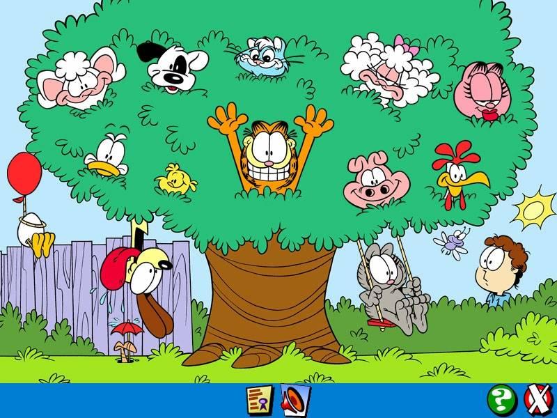 Иллюстрация 1 из 7 для Гарфилд малышам. Учимся считать (CDpc) | Лабиринт - софт. Источник: МЕГ
