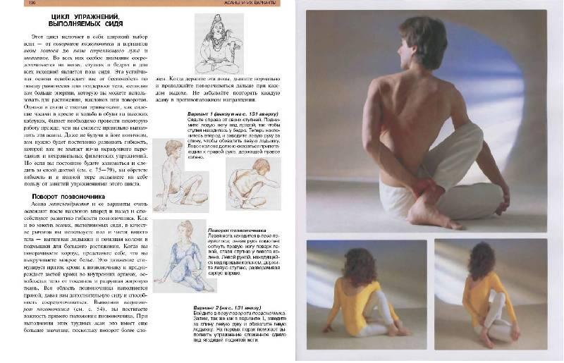 Иллюстрация 1 из 23 для Новая книга по йоге: Поэтапное руководство - Лайделл, Рабинович, Рабинович | Лабиринт - книги. Источник: Лана