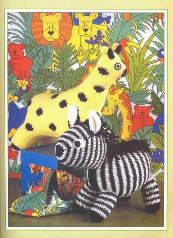 Иллюстрация 1 из 4 для Вязаные игрушки - Молли Годдард   Лабиринт - книги. Источник: Panterra