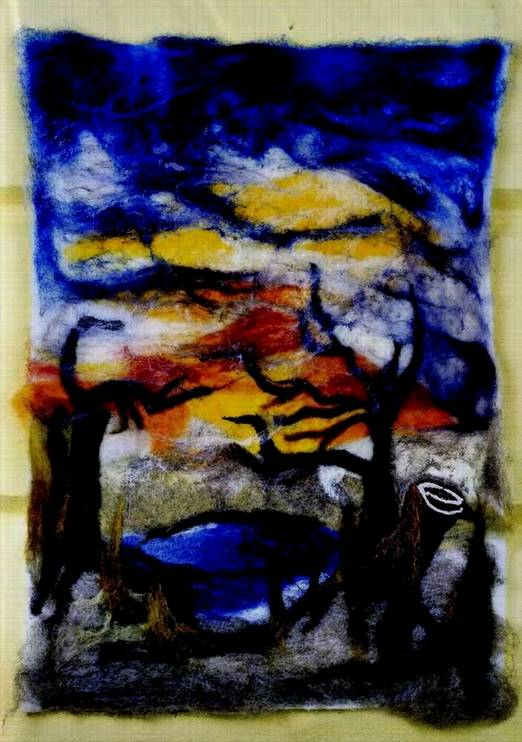 Иллюстрация 1 из 15 для Мягкие картины своими руками - Жаннетт Кнаке | Лабиринт - книги. Источник: Panterra
