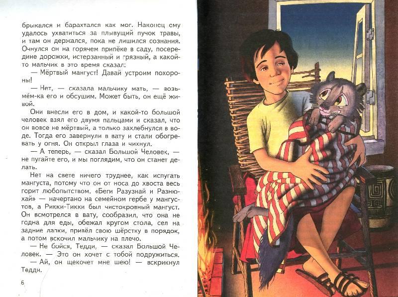 Иллюстрация 1 из 9 для Рикки-Тикки-Тави: Сказки - Редьярд Киплинг | Лабиринт - книги. Источник: Книгосмотритель