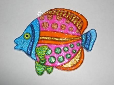 Иллюстрация 1 из 4 для Витраж средний: Рыба | Лабиринт - игрушки. Источник: sher