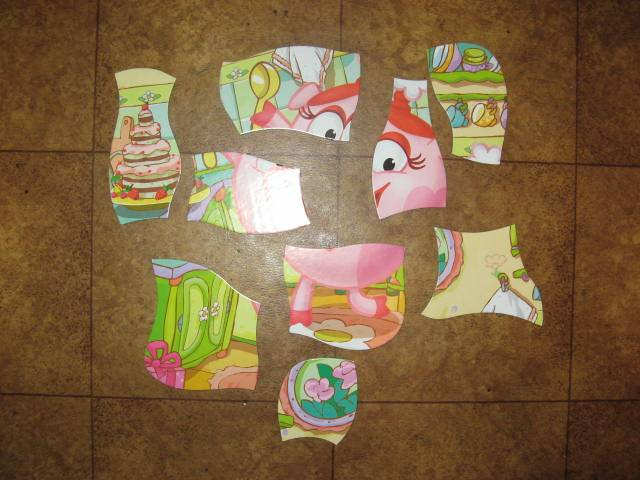 Иллюстрация 1 из 3 для Развивающая мозаика. Смешарики. Нюша | Лабиринт - игрушки. Источник: libe