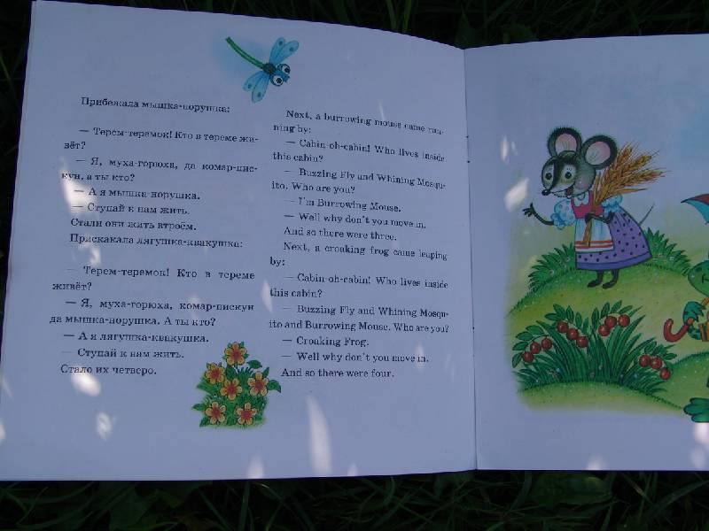 Иллюстрация 1 из 2 для Теремок (The small cabin)   Лабиринт - книги. Источник: Лаванда