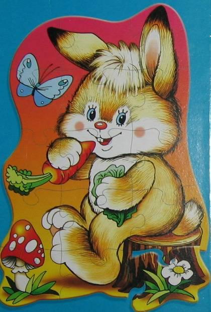 Иллюстрация 1 из 5 для Развивающая мозаика: Зайчонок   Лабиринт - игрушки. Источник: cocher
