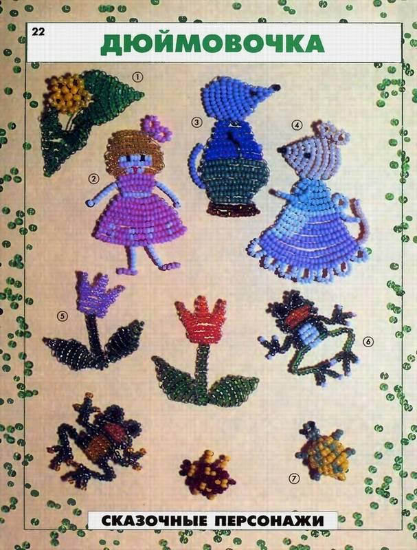 Иллюстрация 7 из 28 для Фигурки из бисера - Ю. Лындина Лабиринт - книги.