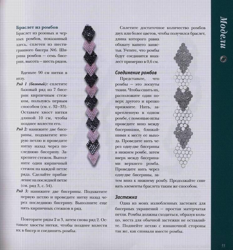 Источник. следующая. книги Мозаичное плетение из бисера - Диана...