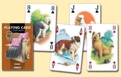 Иллюстрация 1 из 10 для Карты игральные. Собаки | Лабиринт - сувениры. Источник: -=  Елена =-