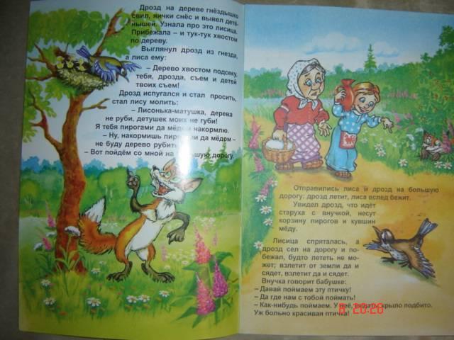 Иллюстрация 1 из 5 для Русские сказки: Лиса и дрозд | Лабиринт - книги. Источник: Leyla
