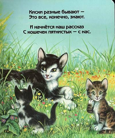 Иллюстрация 1 из 5 для Киски разные бывают. Для самых маленьких | Лабиринт - книги. Источник: Зоя Космодемьянская