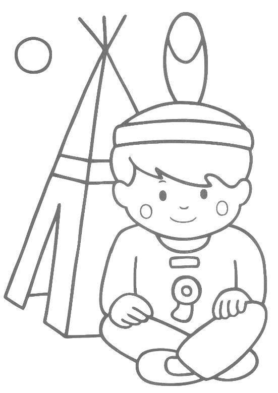 Раскраски для детей с контуром