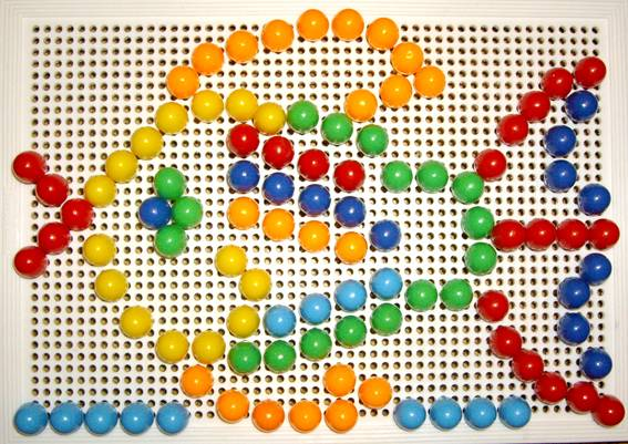 Иллюстрация 1 из 3 для Мозаика 135 элементов | Лабиринт - игрушки. Источник: OOlga