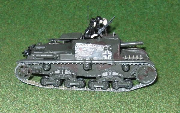 Иллюстрация 1 из 2 для 3515/Самоходное орудие М40-75/18 | Лабиринт - игрушки. Источник: Антоха