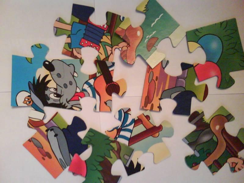 Иллюстрация 1 из 4 для Step Puzzle-24 MAXI 70002 Ну, погоди!   Лабиринт - игрушки. Источник: Татиана