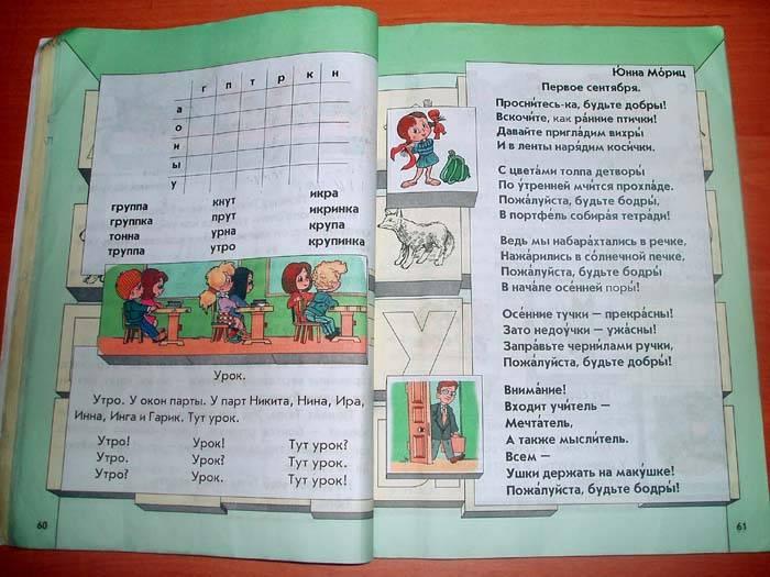 ГДЗ по Русскому языку 1 класс Бунеев Р. Н.