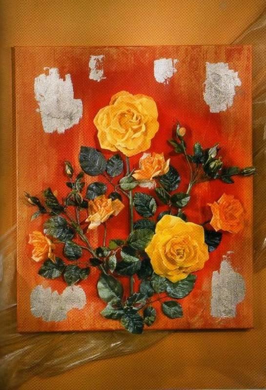 Картины из засушенных цветов и листьев своими