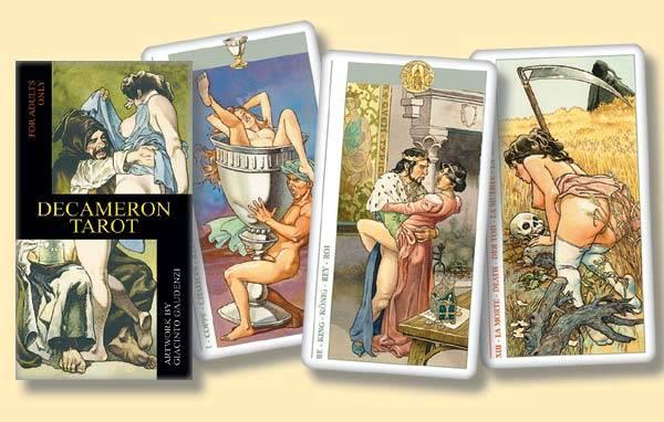 Иллюстрация 1 из 3 для Таро Декамерон (руководство+карты)   Лабиринт - книги. Источник: diave