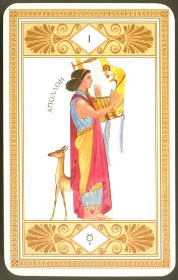 Иллюстрация 1 из 3 для Таро Аполлона (колода карт+книга в футляре)   Лабиринт - книги. Источник: diave