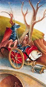 Иллюстрация 1 из 11 для Таро Иеронима Босха (руководство + карты)   Лабиринт - книги. Источник: diave