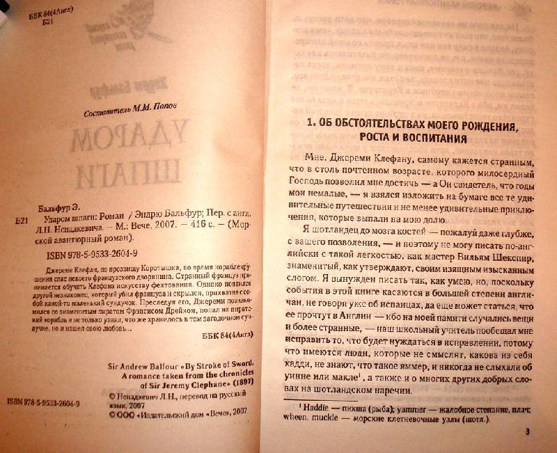 Иллюстрация 1 из 2 для Ударом шпаги: Роман - Эндрю Бальфур | Лабиринт - книги. Источник: Мефи