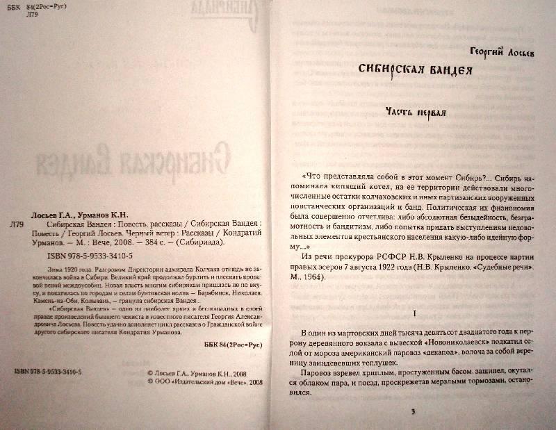 Иллюстрация 1 из 2 для Сибирская Вандея - Георгий Лосьев   Лабиринт - книги. Источник: Мефи