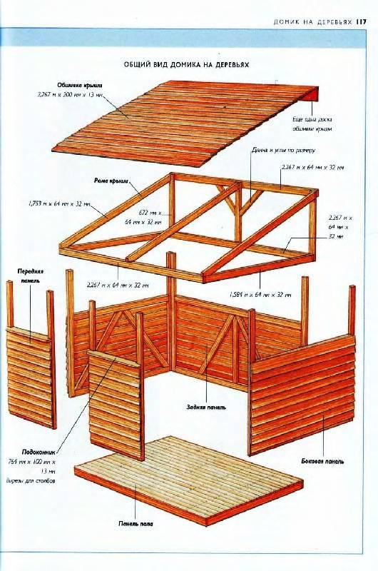 Как сделать деревянный детский домик своими руками