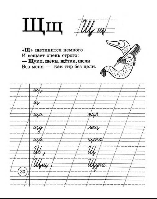 Иллюстрация 3 из 3 для прописи шаблон