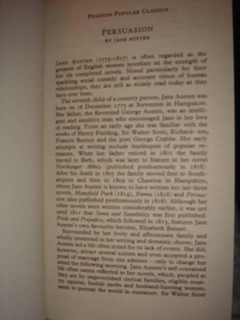 Иллюстрация 1 из 2 для Persuasion - Jane Austen | Лабиринт - книги. Источник: Ларина  Анастасия Сергеевна