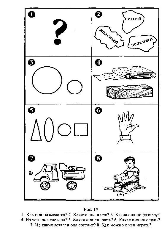 конспект занятия в детском саду для детей 3-4 года