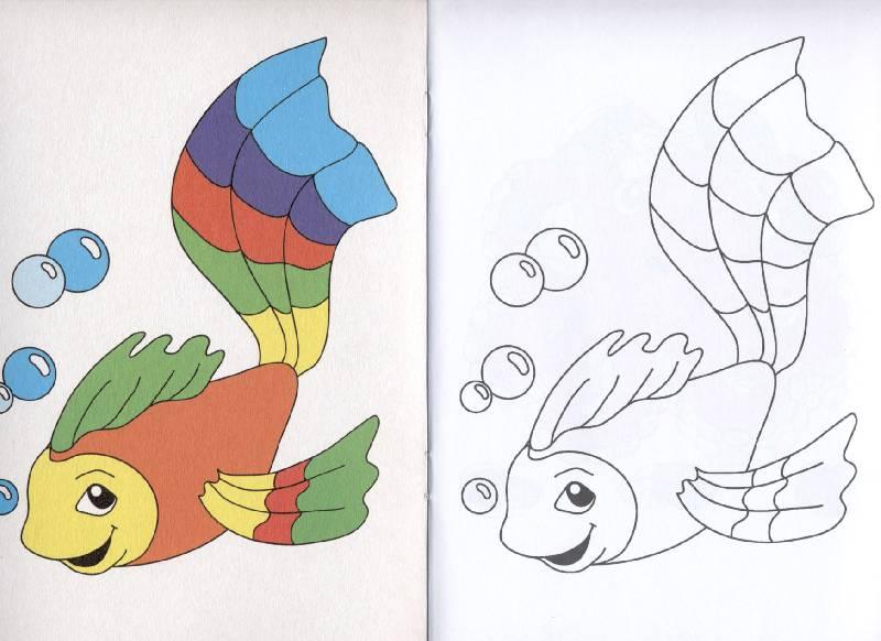 pobedpix.com / раскраски с образцом раскрашивания