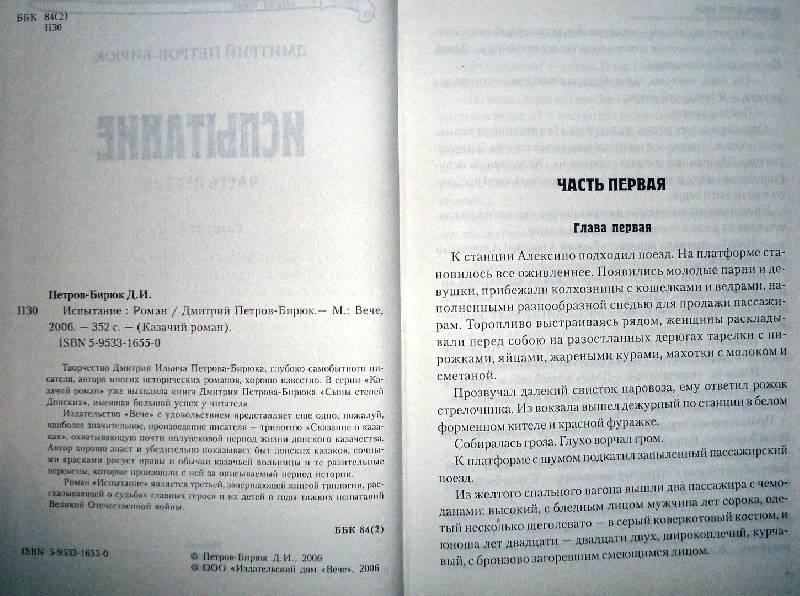Иллюстрация 1 из 2 для Испытание: Роман - Дмитрий Петров-Бирюк | Лабиринт - книги. Источник: Мефи