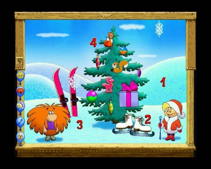 Иллюстрация 1 из 3 для Английский для малышей: Волшебные уроки домовенка Бу (DVD) | Лабиринт - софт. Источник: Rainbow