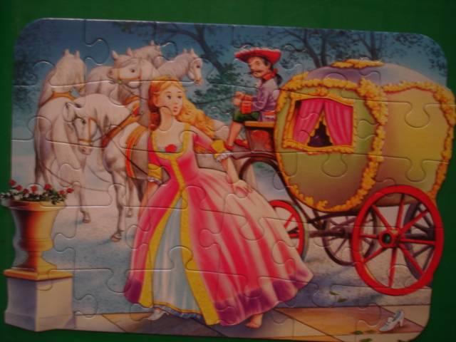 Иллюстрация 1 из 3 для Puzzle-30.MIDI. Золушка (В-03037)   Лабиринт - игрушки. Источник: Настёна