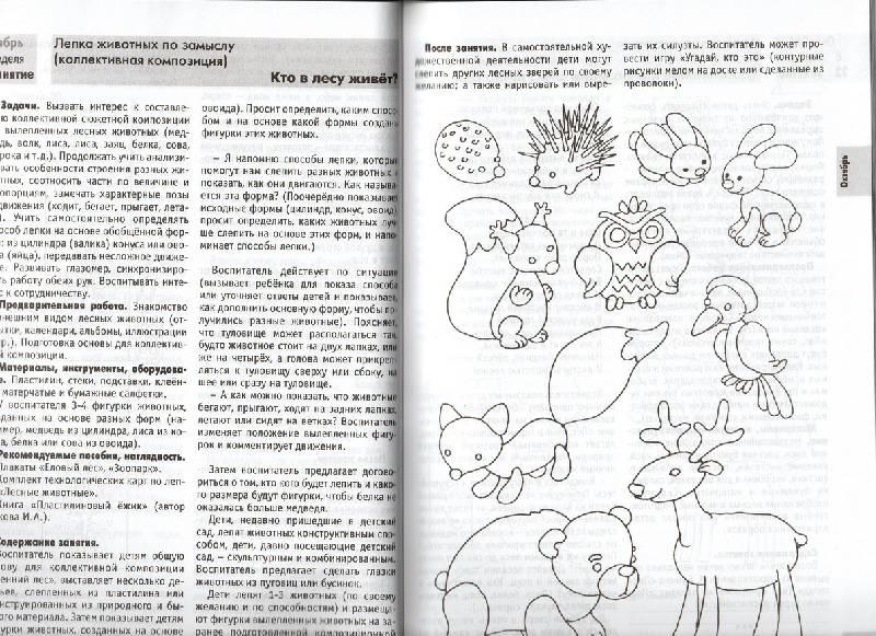 изобразительная деятельность в детском саду планирование конспекты методические рекомендации