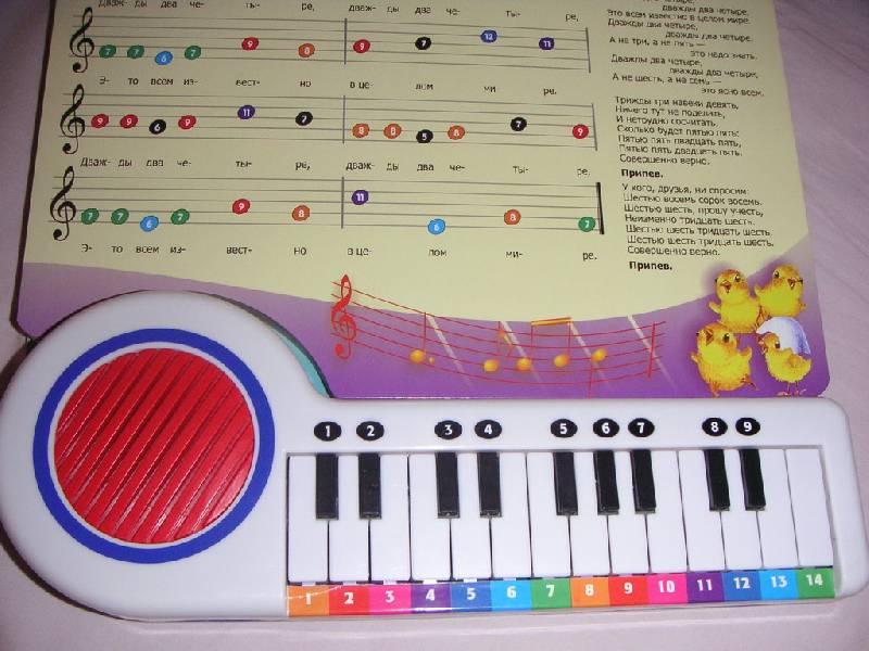 Играть на пианино с нуля в домашних  799
