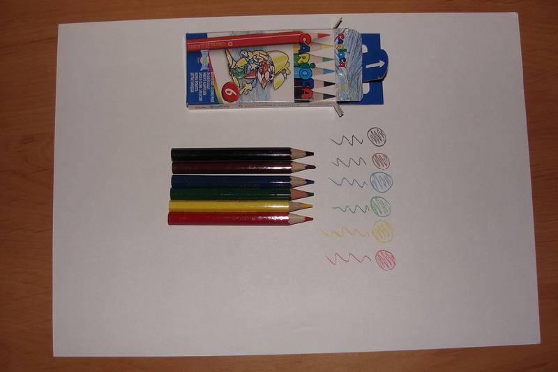 Иллюстрация 1 из 2 для Карандаши мини 6 цветов Carioca (41448)   Лабиринт - канцтовы. Источник: Machaon