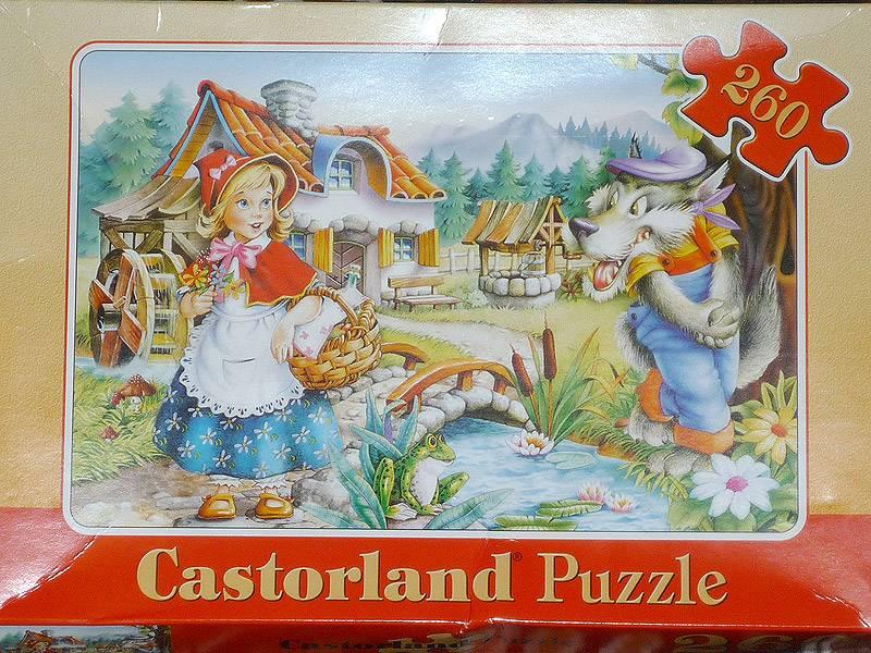 Иллюстрация 1 из 6 для Puzzle-260. Красная Шапочка (В-26364) | Лабиринт - игрушки. Источник: Stich