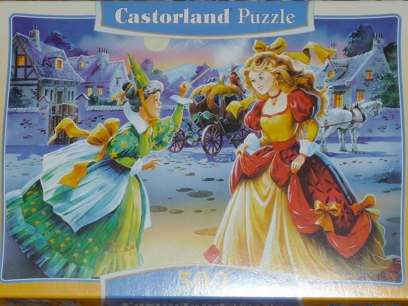 """Иллюстрация 1 из 6 для Puzzle-500 """"Золушка"""" (В-51076)   Лабиринт - игрушки. Источник: Stich"""